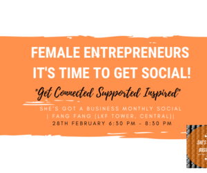 Female enterpreneurs, it's time to get social!