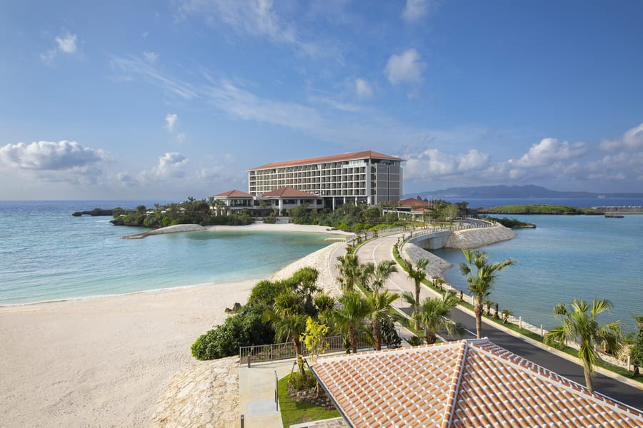 In need of a recharging holiday? You won't want to leave Hyatt Regency Seragaki Island Okinawa