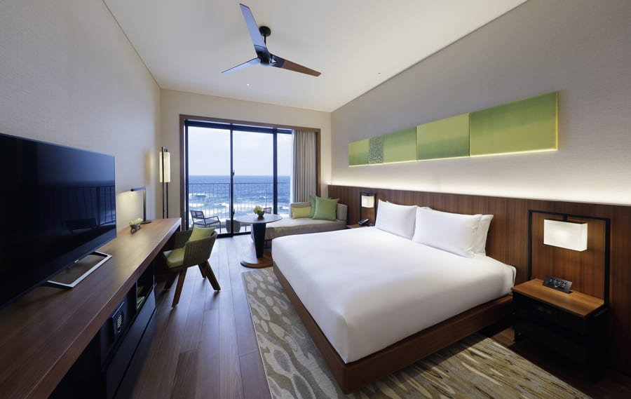 Hyatt Regency Seragaki Island Okinawa review room
