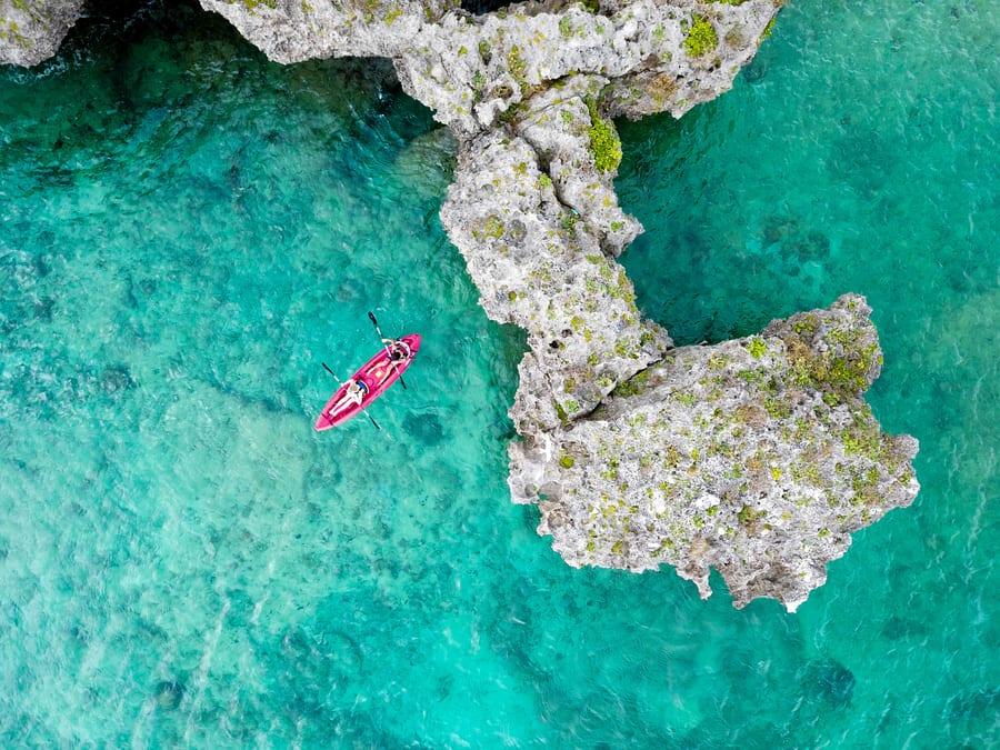 Hyatt Regency Seragaki Island Okinawa sea kayak
