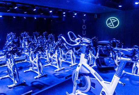 xyz hong kong indoor cycling spin studio Central
