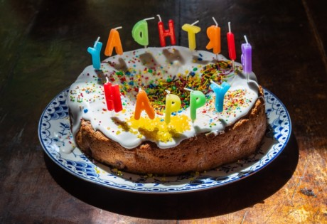 2nd birthday Honeycombers Hong Kong cake