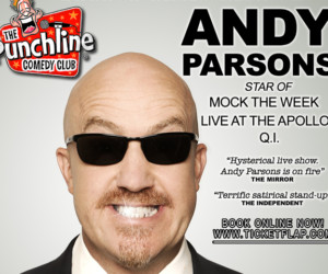 Andy Parsons Live in Hong Kong