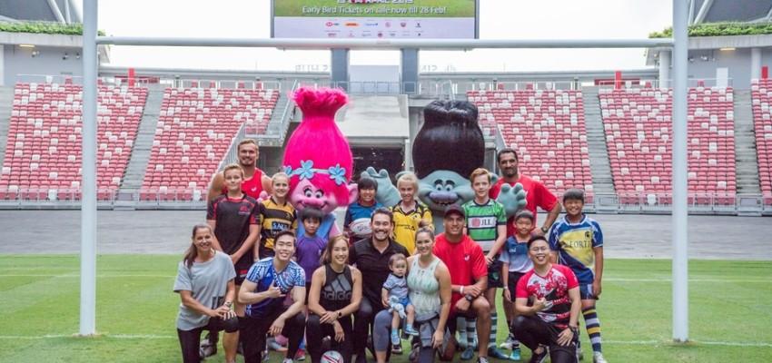 HSBC Singapore Rugby Sevens 2019 main image