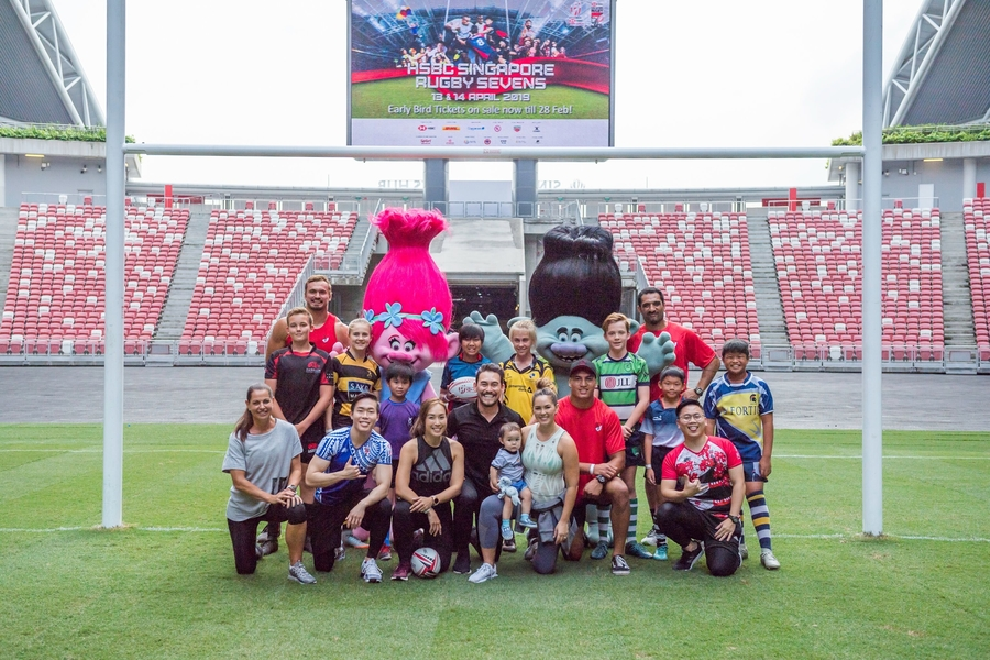 HSBC Singapore Rugby Sevens 2019 is bringing the fun