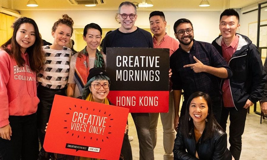 Networking events in Hong Kong CreativeMornings