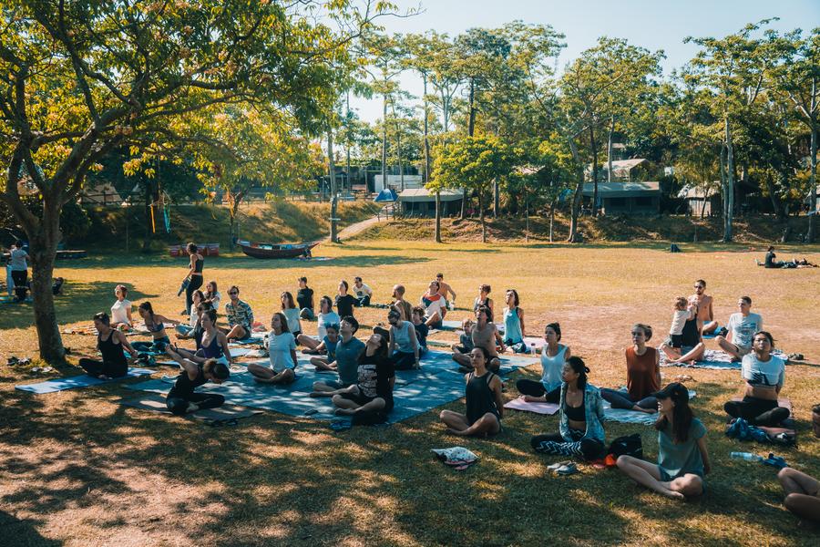 Shi Fu Miz Festival 2019 yoga lessons