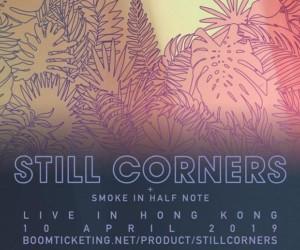 Still Corner Live in Hong Kong concerts banner