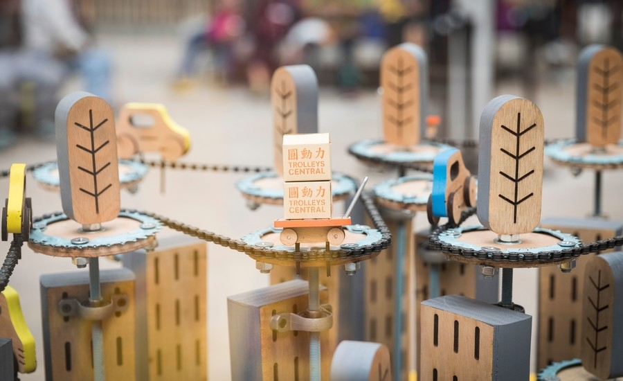 Tai Kwun 2019 Spring Season - Trolleys Central exhibition