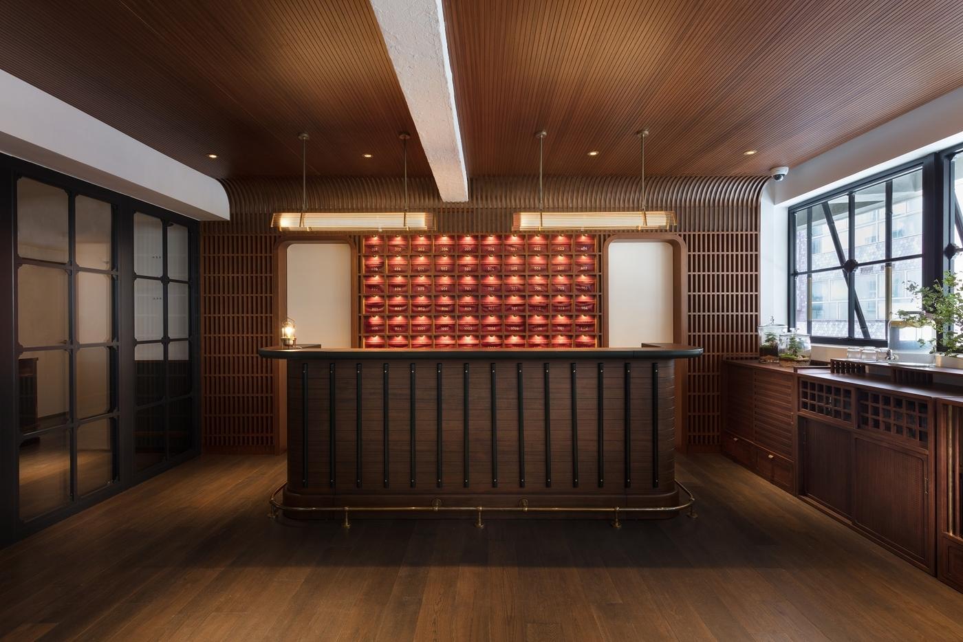 The Fleming Wan Chai lobby