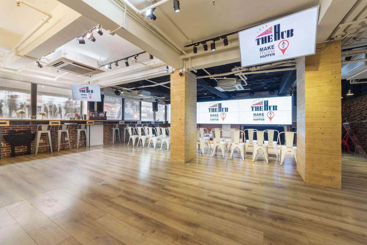 The Hub space Wan chai | MICE venues in Hong Kong