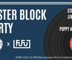 Easter Block Party with Blue Supreme and FuFu Creative things to do this weekend in Hong Kong