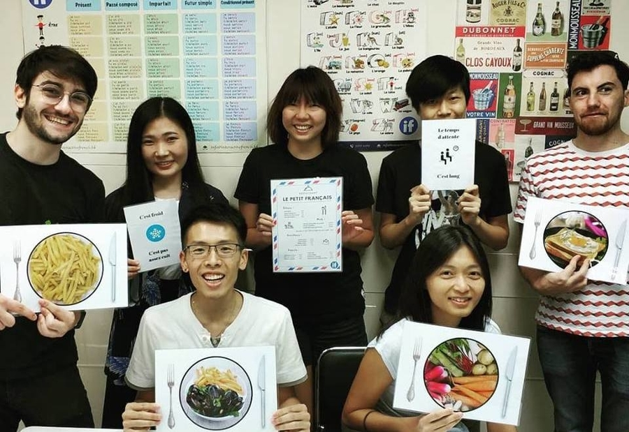Interactive French classes in Hong Kong