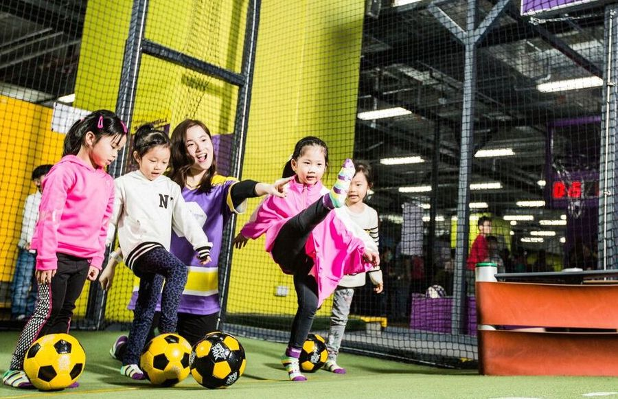 SuperPark kids party venues in Hong Kong