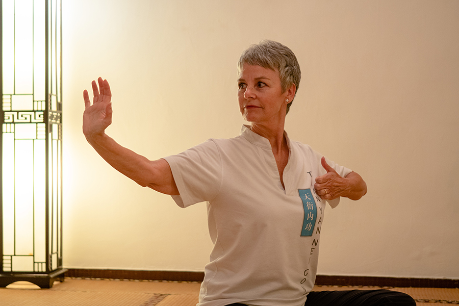 We tried some classes at the Nei Gong Centre, and learned to balance both body & mind