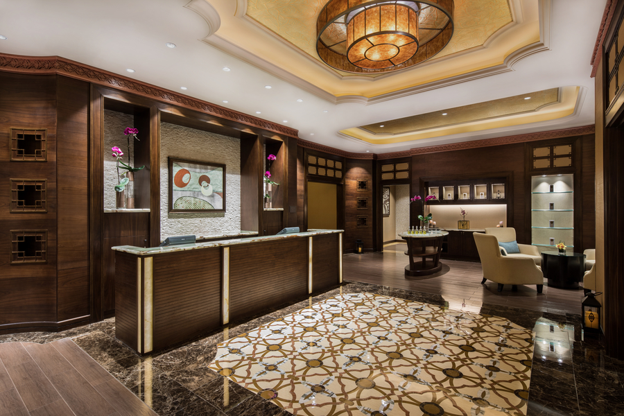 elemental herbology shine spa for sheraton reception