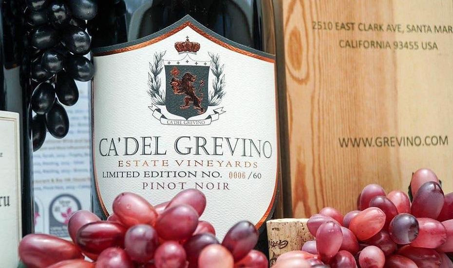 Ca' Del Grevino wines pinot noir
