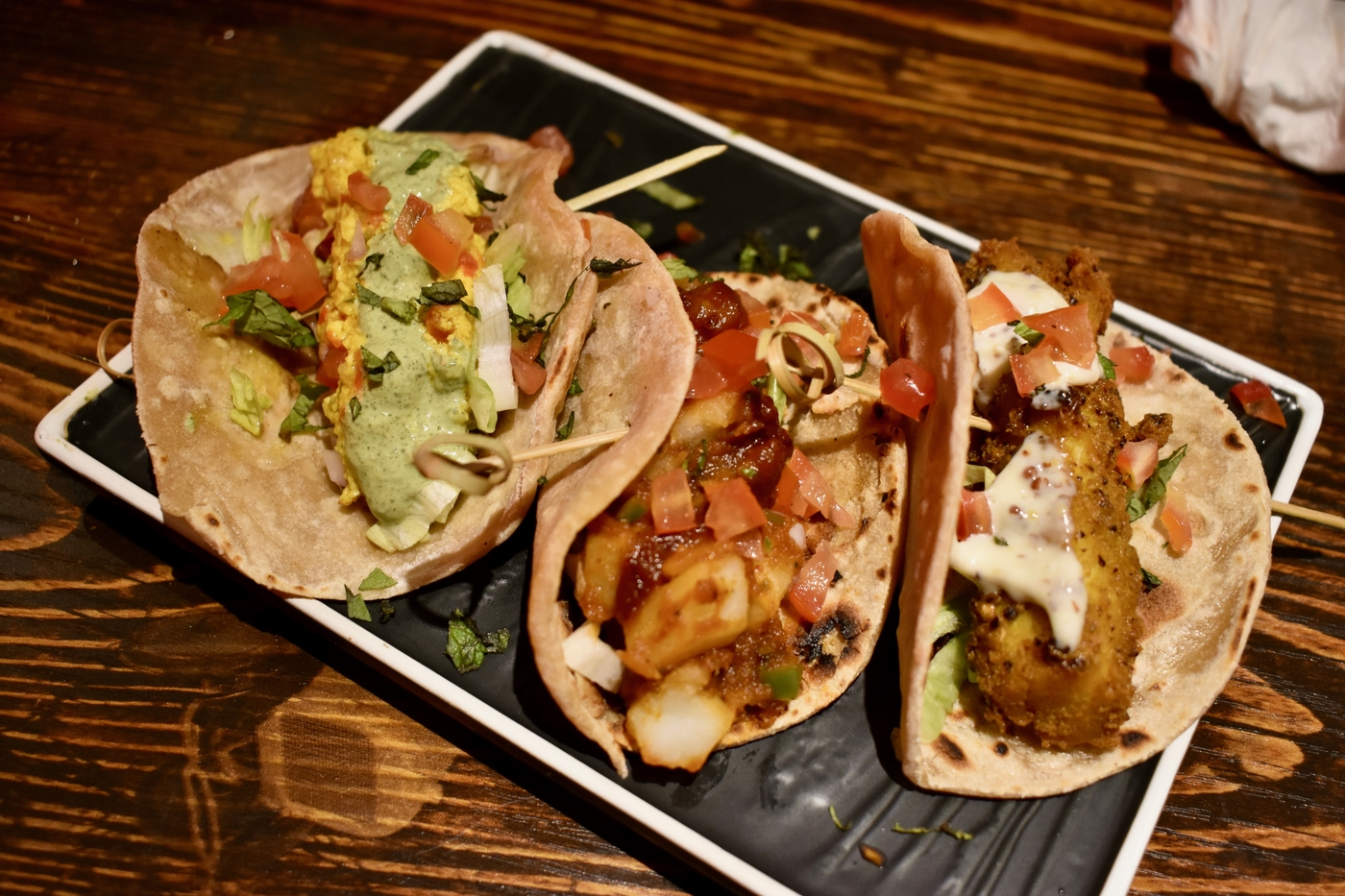 tacos at Cardamon Street
