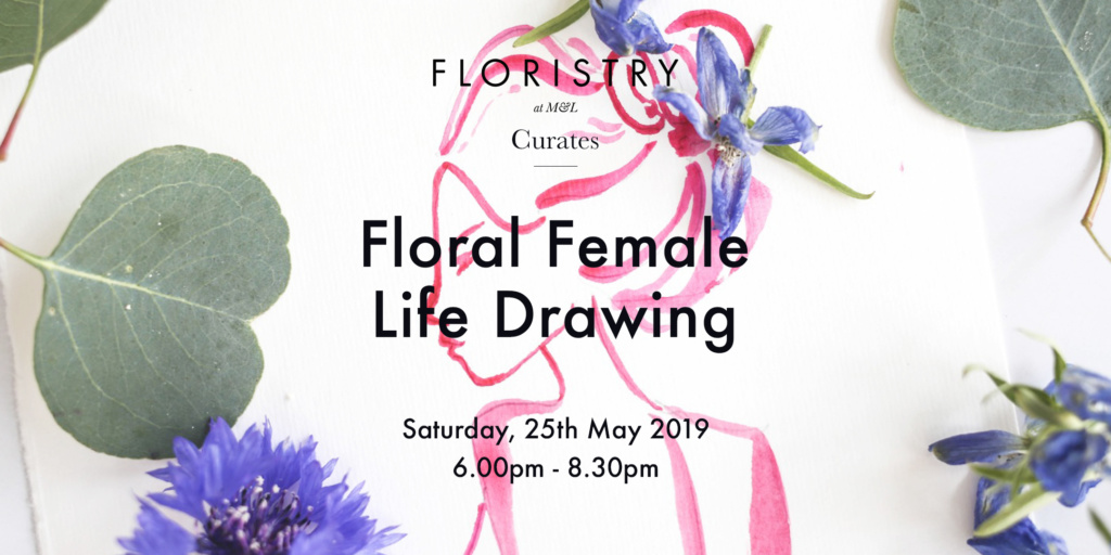 An immersive evening of floral figure drawing