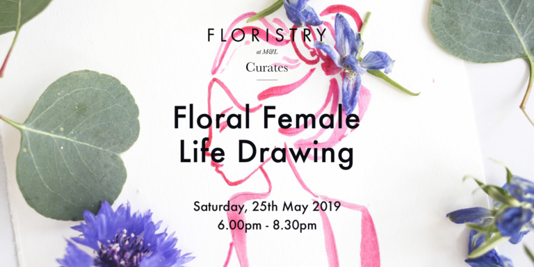 Floral Female Life Drawing
