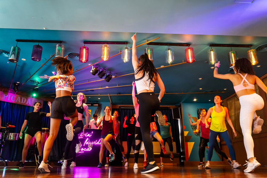 Seoul2Rio Fitness Dance Party Pop-up by FLYE