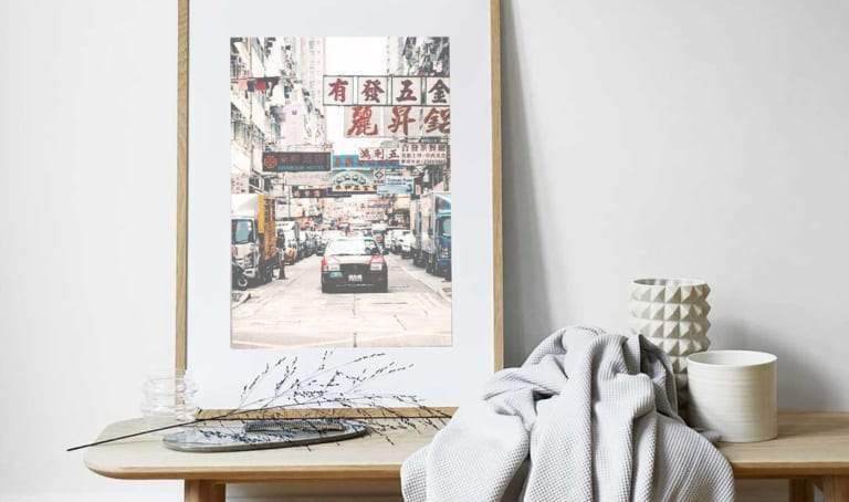 Colour your home and brighten your day with art prints from KAKAHUETTE