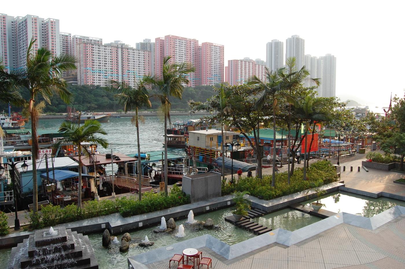 Aberdeen Hong Kong promenade