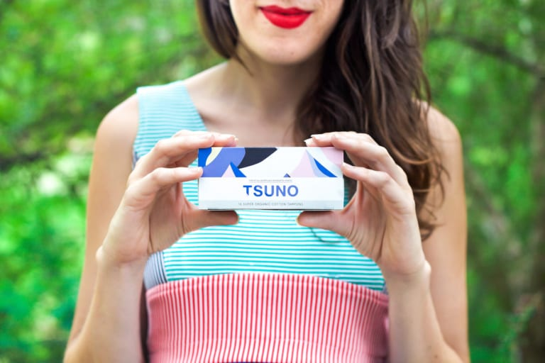 Founded in Australia, Tsuno creates sustainable sanitary products that give back