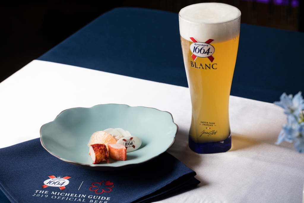 Kronenbourg 1664 X MICHELIN #DinnerInBlue: An exclusive beer pairing experience
