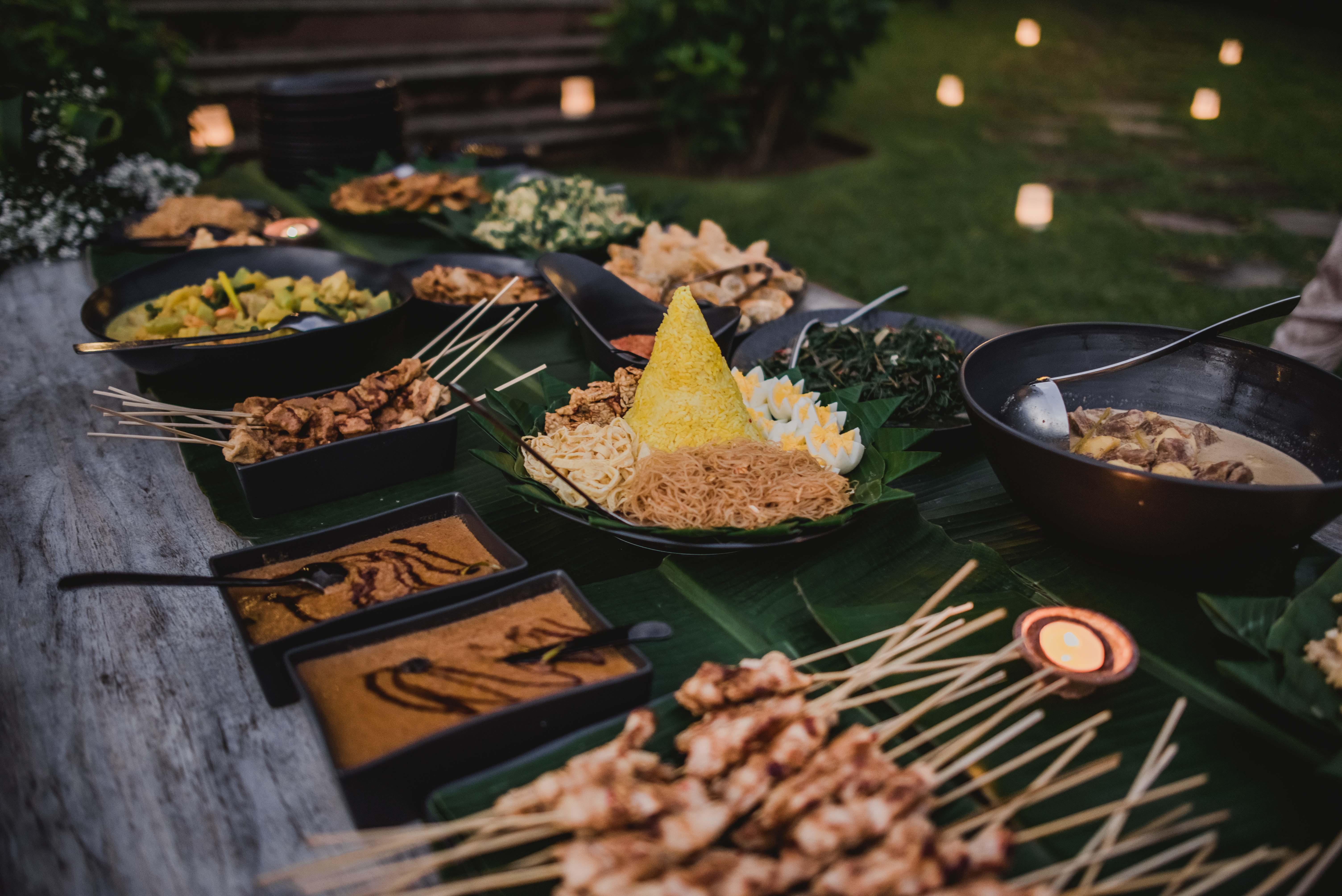 The Cove Bali food