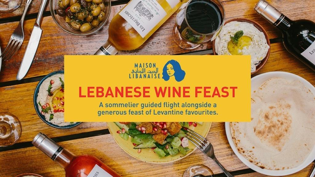 Wine Feast at Maison Libanaise!