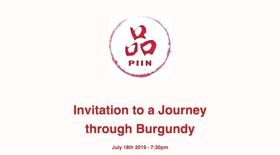 Invitation for a Journey through Burgundy
