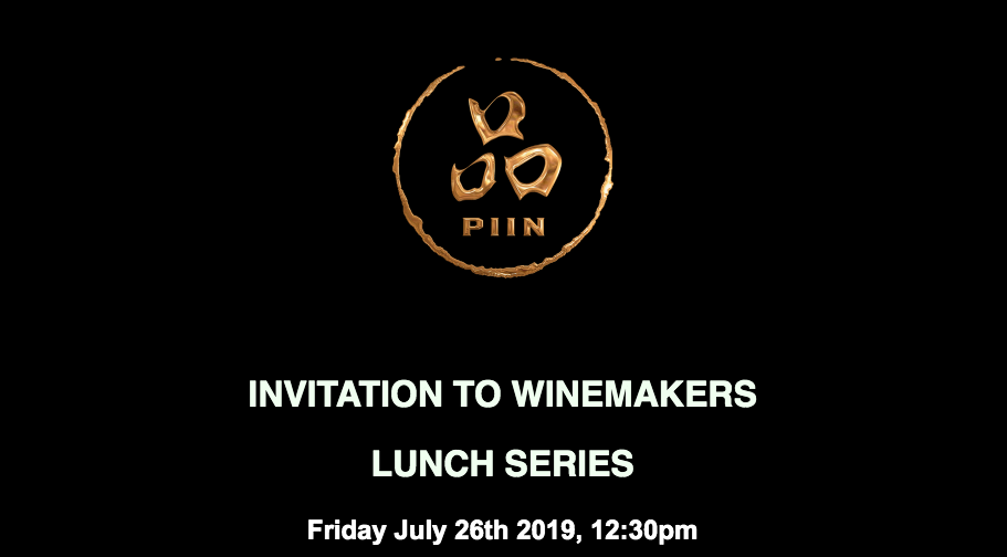 INVITATION TO WINEMAKERS LUNCH SERIES