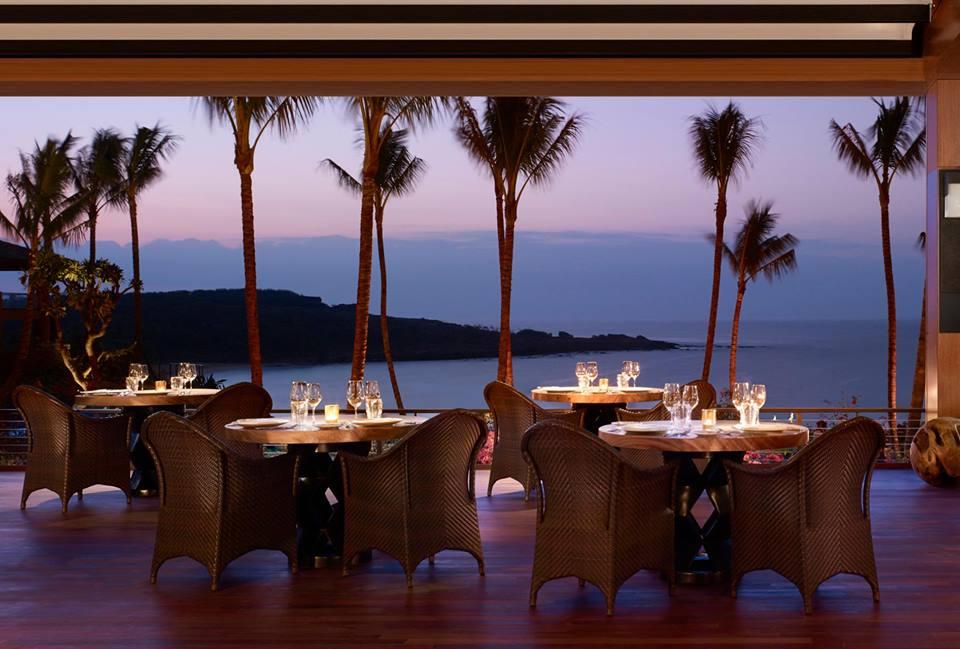 Fur Seasons Resort lanai Hawaii beach