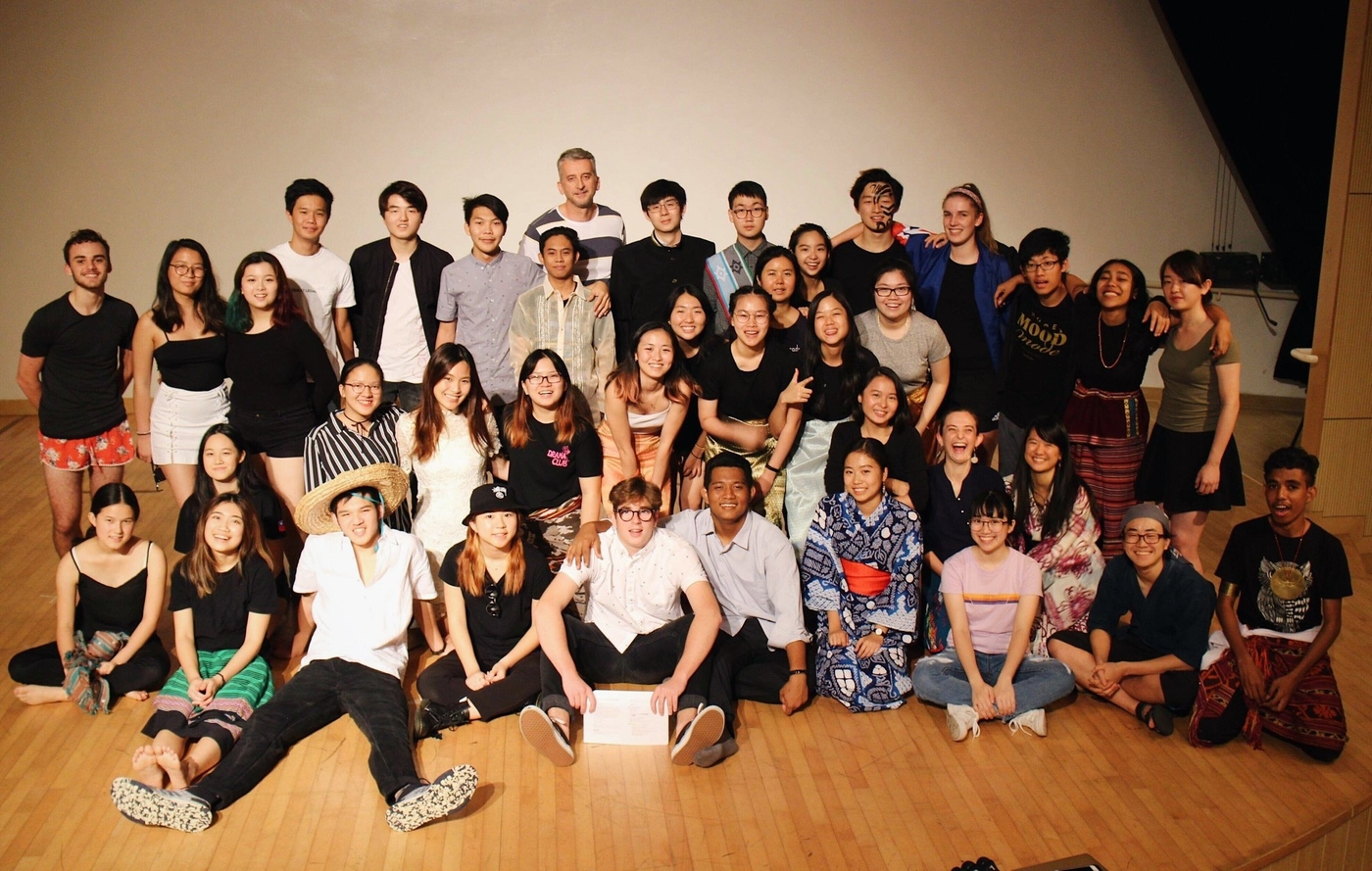 Li Po Chun United World College Hong Kong students