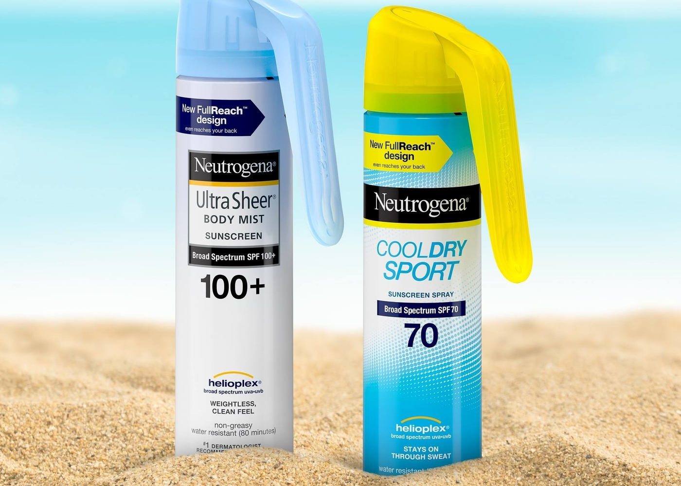 Neutrogena Cool Dry Sport Water-Resistant Sunscreen Spray