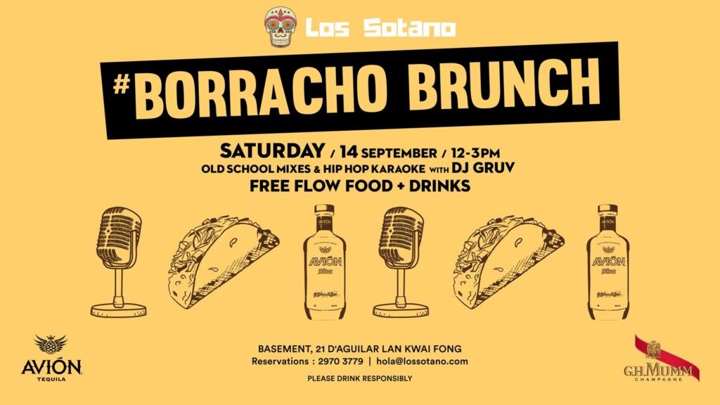 Borracho Brunch at Los Sotano