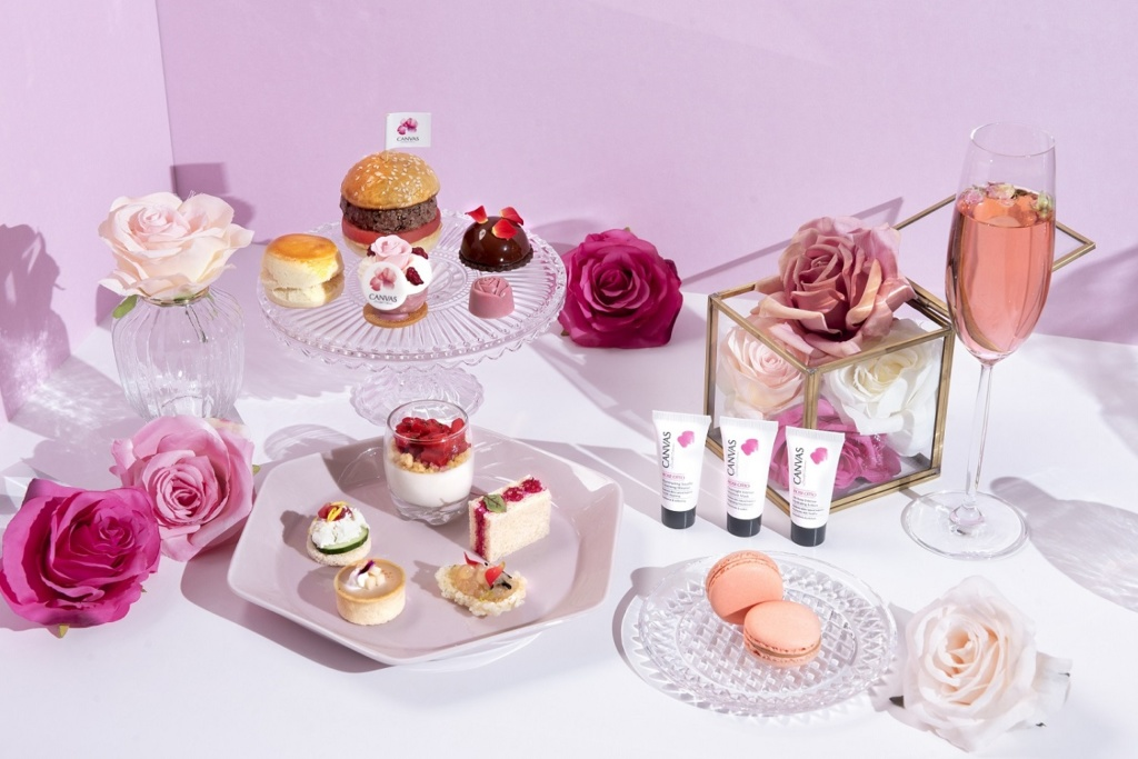 Sheraton Hong Kong Shines the Summer in Pink with  Rosy Garden Afternoon Tea in collaboration with CANVAS