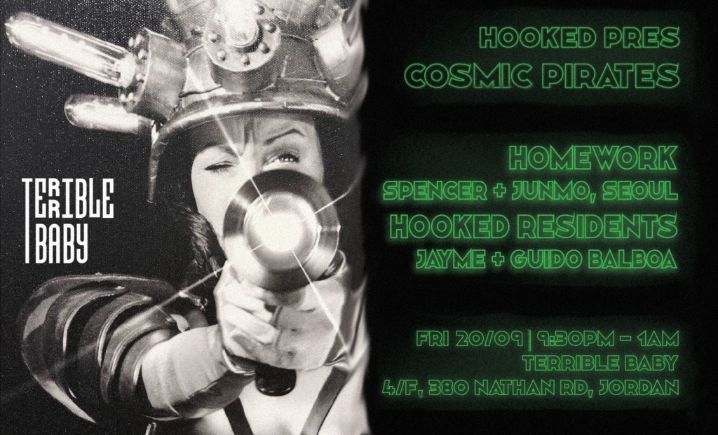 Hooked Pres. Cosmic Pirates vol. 2 w/ Homework (Se