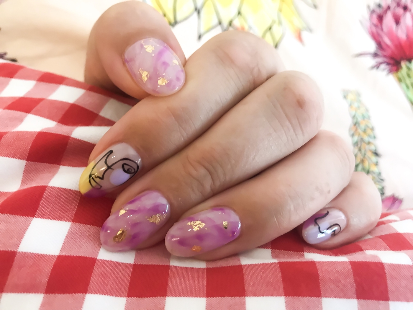 The Nailtural nail art