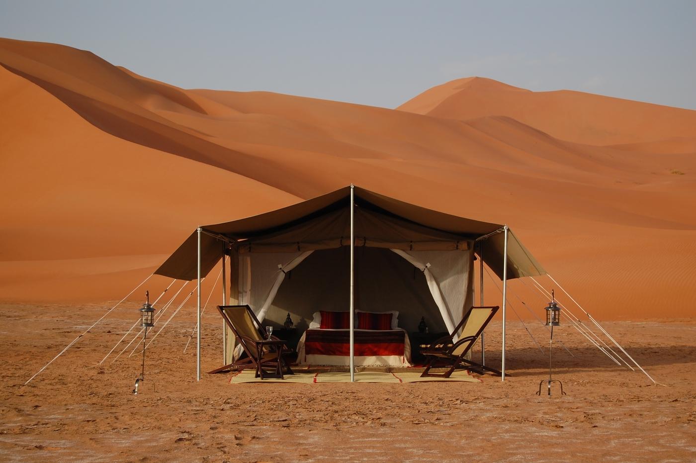 Hud Hud camp Oman
