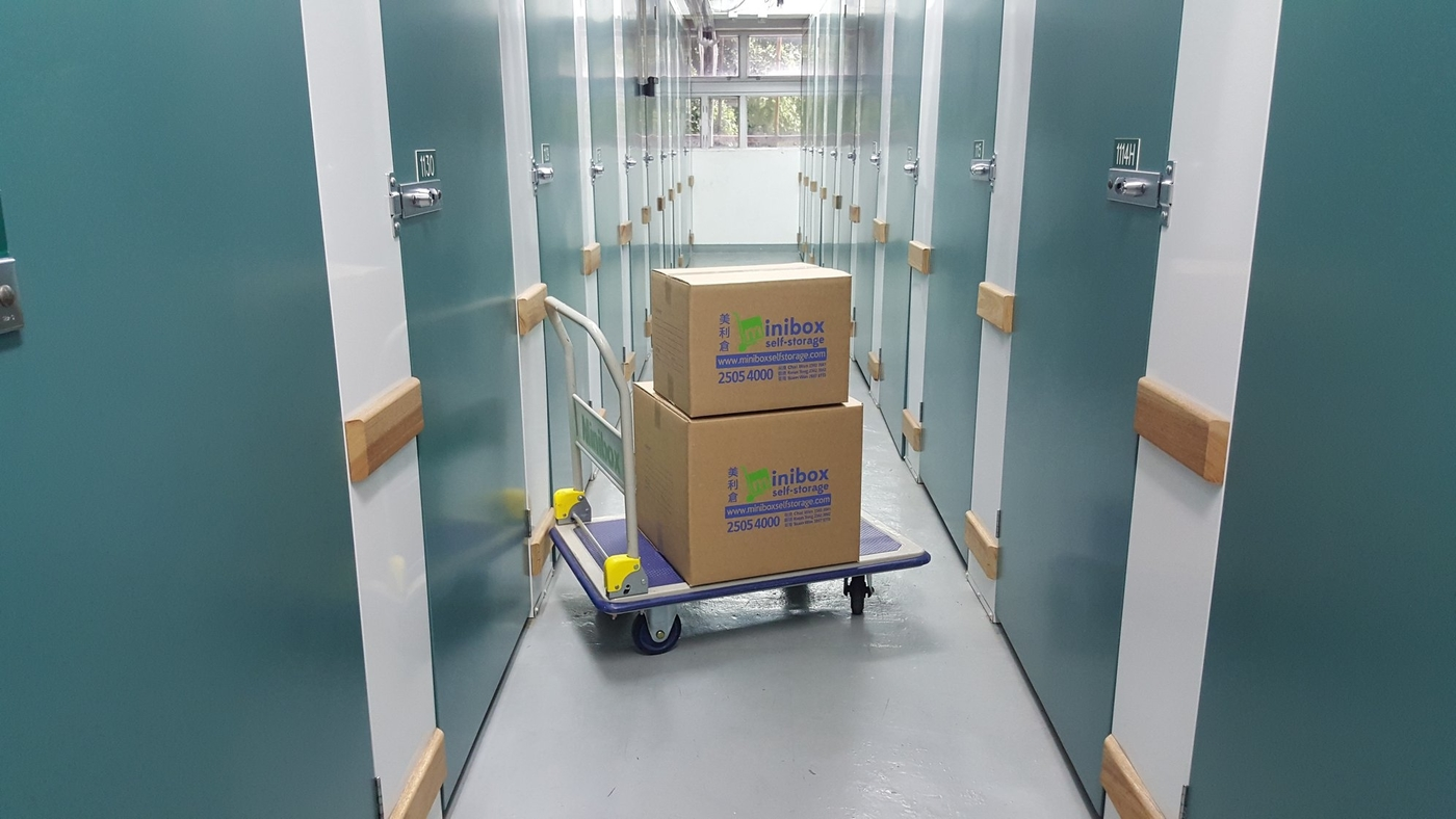 storage companies Hong Kong Minibox self storage