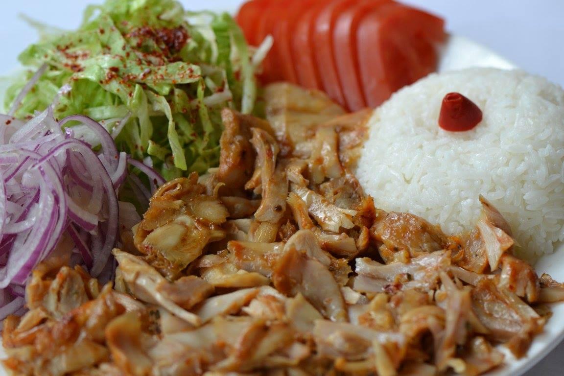 cheap eats in Sheung Wan 27 Kebab house plate