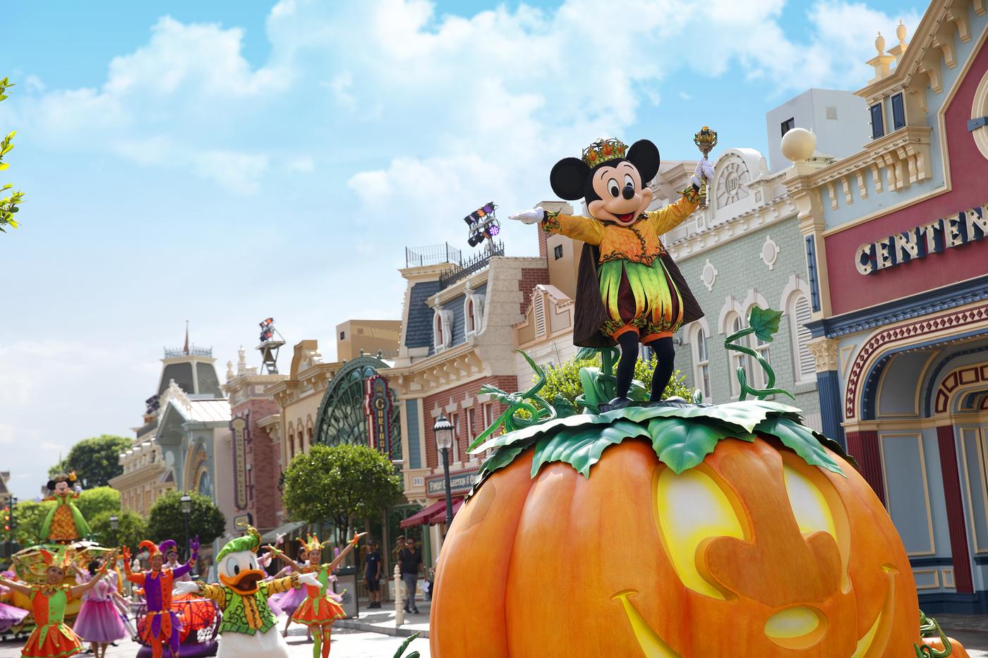 Halloween events in Hong Kong 2019 Disneyland