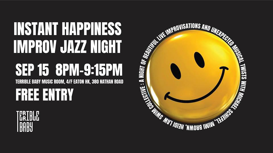 Instant Happiness Improv Jazz Night
