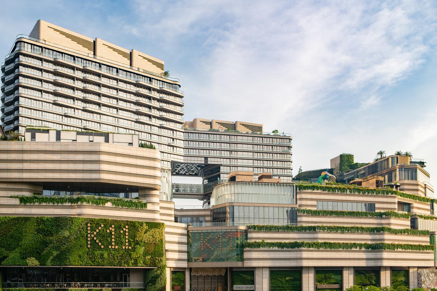 K11 Musea mall Tsim Sha Tsui exterior