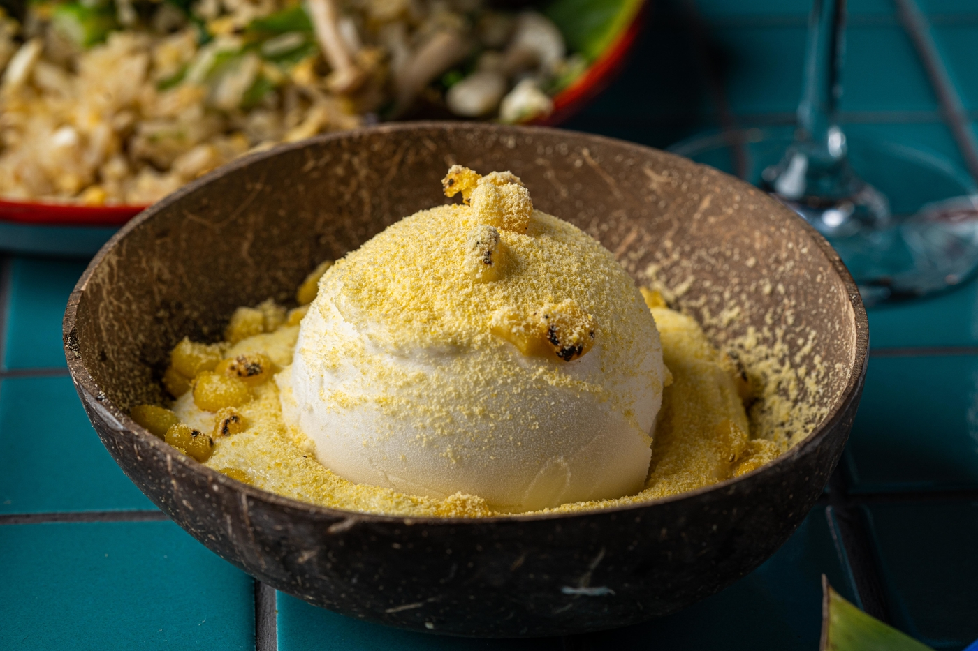 Sip Song coconut and corn ice cream