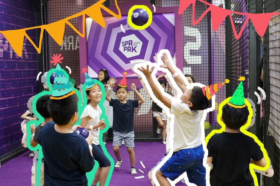 SuperPark Hong Kong party