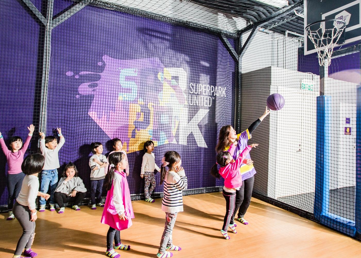 SuperPark Hong Kong Basketball