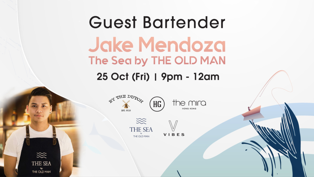 Guest Bartender at Vibes: Jake Mendoza (The Sea by The Old Man)